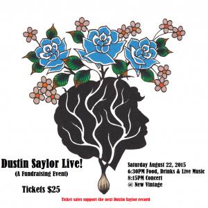 dustin saylor live fundraiser
